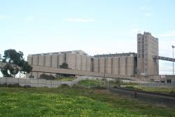 Overview of the grain elevators
