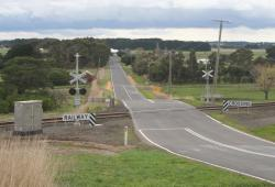 Colac - Ballarat Road level crossing