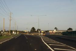 Existing bit of dual carriageway, opened a few years back for the new industrial estate