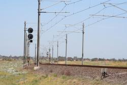 Westona - Laverton line looking towards Westona