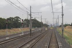 Signals 20/10 and 20/12 for up trains departing Laverton Loop