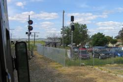Co-acting signals for the East line