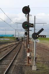Up end departure signals