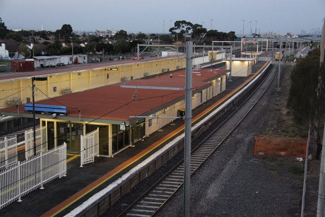 Platform 3 now allocated to trains off the Altona branch
