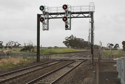 Signals LTR16 and LTR4 at the up end of Little River