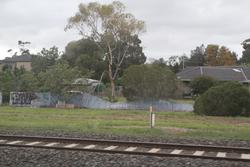 The width of the rail reserve varies between Hoppers Crossing and Werribee
