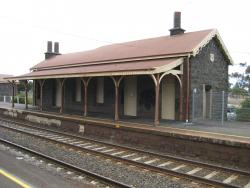 Little River's station building