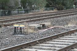 Axle counters retrofitted at the Maddox Road level crossing