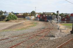 Maribyrnong River Junction looking down