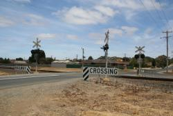 Reserve Road level crossing