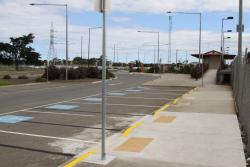 Additional disabled parking spaces provided in the original car park as part of the 2010 upgrade