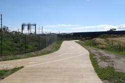 Upgraded shared path between Merton Street and Laverton station