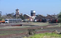 Newport Workshops: Overview of the west and administration blocks