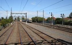 Spotswood end of the Altona Sidings at Newport