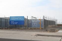 Upgraded Metro Trains signal depot at Newport
