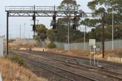 Up signals at the junction