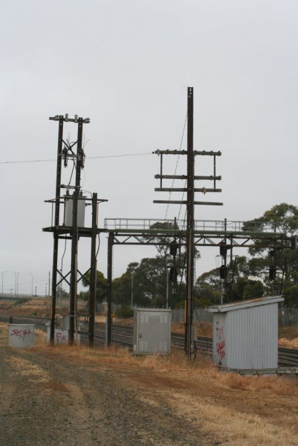 Disused polelines and power supply equipment