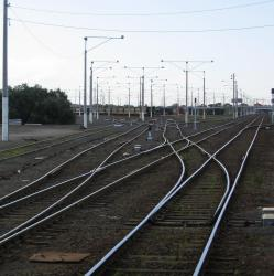 South (station) end of North Geelong Yard