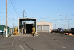 Geelong Wagon Maintenance Centre, in the middle of North Geelong Yard