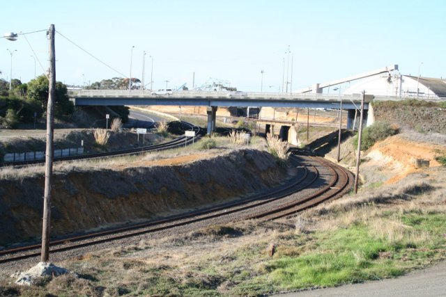 Overview of North Geelong Junction