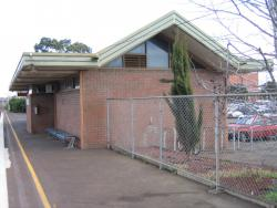 North Geelong station building