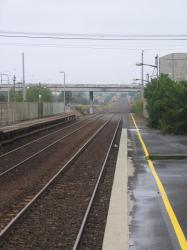 North Geelong station platforms