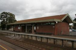 Alterations to the front of the station building