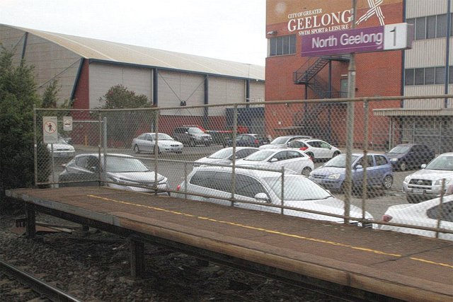 Rail Geelong Locations North Geelong Station