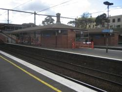 Heritage buildings on the platforms