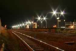 North Shore station by night