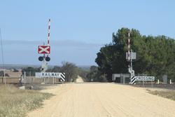 Lights, bells and boom barriers installed at the Pettavel Road level crossing