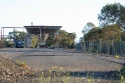 Tank car filling station at Shell Refinery, Corio