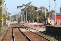 New points and signal in place