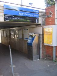 Street entry to the station