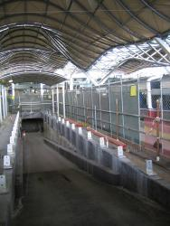 Southern Cross: Rebuilt ramp into the subway