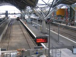 Southern Cross: An quiet spell at Spencer Street Station