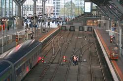 New dead ends at platform 2/3 at Southern Cross