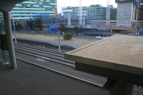 Deck to nowhere, for access to future platform 15/16