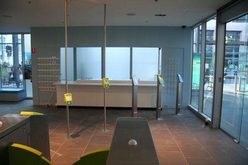 New customer service counter at the Myki discovery centre