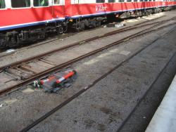 Extra set of points installed between platforms 6 and 7 at Southern Cross