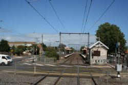 Hudson Street level crossing