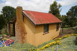 Terang Museum: Back of the station
