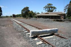 Terang: Baulks at the end of the siding