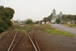 Warrnambool: Annett locked points for the former cement siding