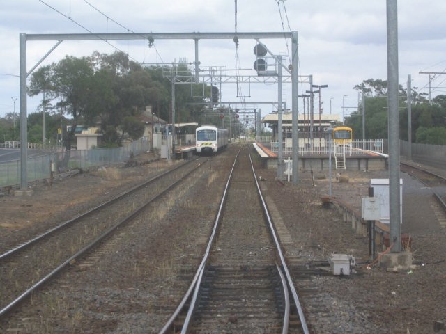 Up end, looking back towards Werribee
