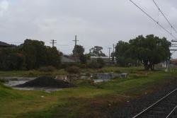 Remains of Werribee goods yard