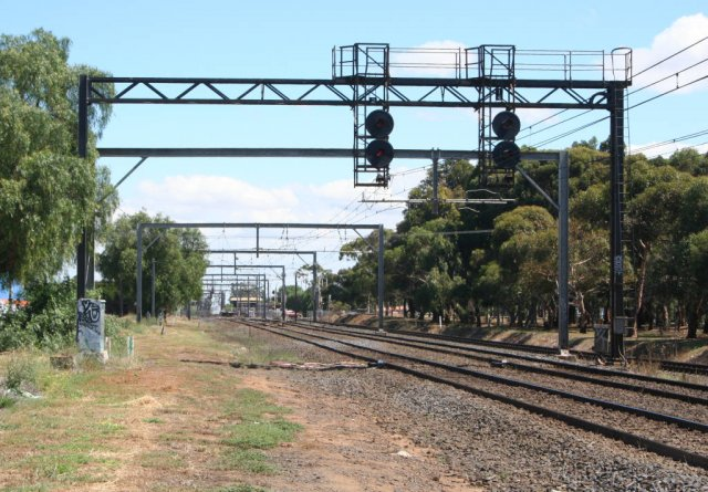 Up end, goods yard