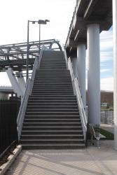 Four flights of stairs at the Wallace Avenue exit in Point Cook