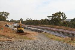 Track duplication works underway towards Maddingley