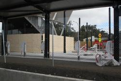 Bacchus Marsh: Entrance to the new second platform